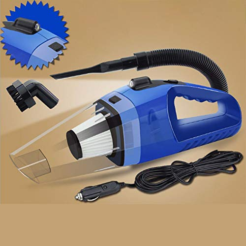 Lowest Price! AKDSteel 12V 120W High Power Car Vacuum Cleaner Wet and Dry Multi-Function Vacuums Blu...