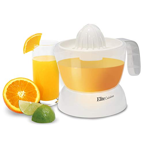 Great Deal! Elite Cuisine ETS-411 BPA-Free Electric Citrus Juicer Extractor: Compact Large Volume Pu...