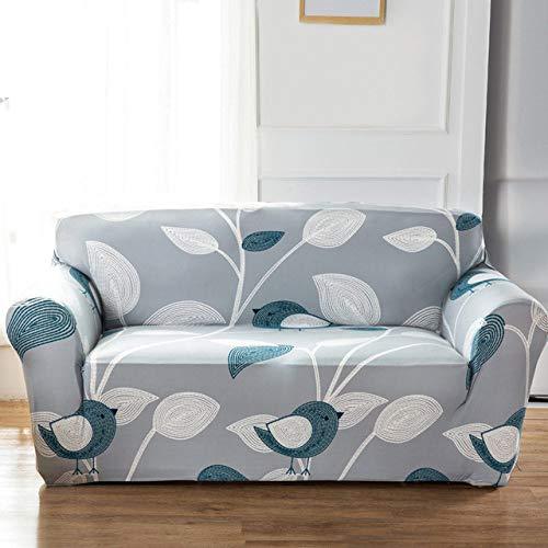 KTUCN All-Inclusive Flexible Sofabezug, Elastic Stretch Modern Geometric Printing Couchbezug Schonbezüge, Farbe 24, 1-Seater 90-140cm