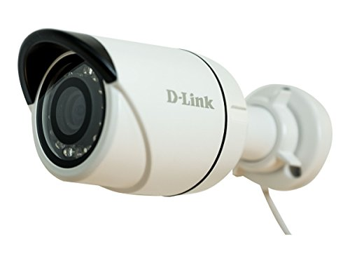 D-Link Systems Network Surveillance Camera - Outdoor - Dustproof/Waterproof - Color (Day&Night) - 3 MP - 2048 X 1536 - Black, White - DCS-4703E
