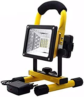 Portable Rechargeable LED Flood Light Waterproof Camping Lamp Outdoor Spotlight Floodlight