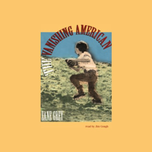 The Vanishing American audiobook cover art