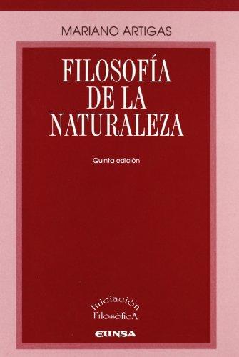 Filosofía de la naturaleza (Libros de iniciación filosófica)