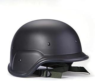 Sonline Casco Tactico Militar Swat Helmet Negro Protector Correas Ajustables