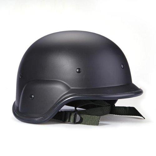 Sonline Casco Tactico Militar Swat Helmet Negro