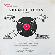 Sound Effects Vol. 1 - From A Cats Meow To A Lion's Roar And A Pistol shot To A World War