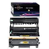 Dream-seeker TN2410/TN2420(Negro) & DR2400/DR2420 Compatible con Impresora Tambor & Cartuchos de Tóner para Brother MFC-L2710DW L2750DW L2730DW HL-L2395DW L2537DW L2550DW L2750DW L2370DN L2310D