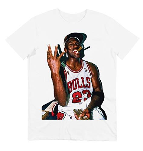 GL BOUTIK – Camiseta Michael Jordan Cigare – Legende Basket – Chicago...