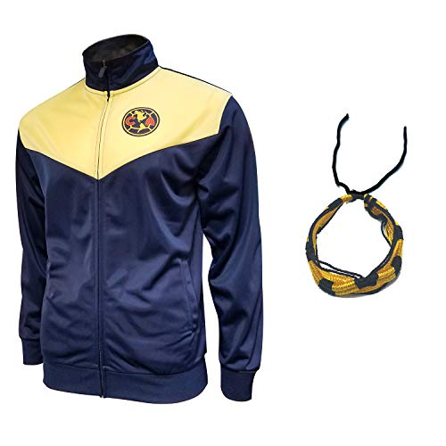 Club America Jacket for Mens Adults Winter New Season Official Licensed Set AMER011 (Blue, M)