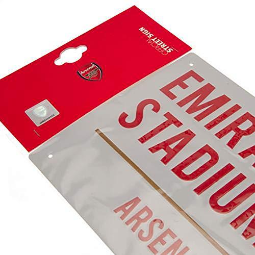 Official Licensed Arsenal F.C - Metal Street Sign