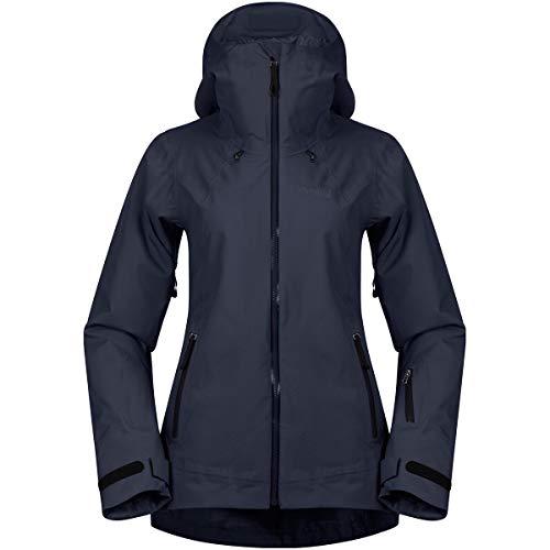 Bergans Stranda Insulated Hybrid Jacket Women - wasserdichte Outdoorjacke mit Schneefang