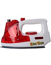 Eddy Toys Plancha con luz y sonido rojo/blanco, 18 cm