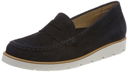 Gabor Shoes Damen Casual Slipper, Blau (Pazifik (Grau), 37.5 EU