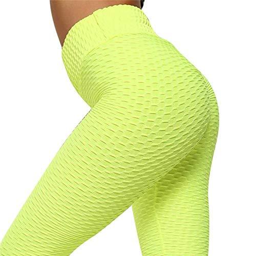 Polainas de control de barriga para mujer, pantalones de yoga de cintura alta, mallas de entrenamiento para correr, leggings de compresión para fitness y mujer