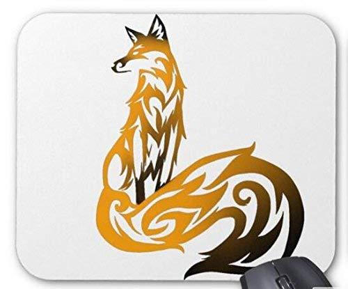 Tribal fire fox mauspad computerzubehör, Gaming mouse mat