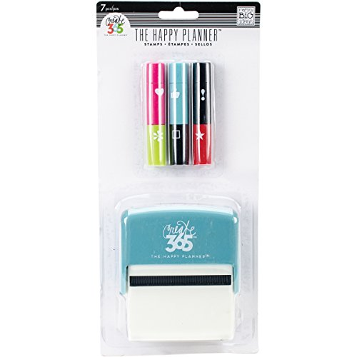 Me & My Big Ideas Create 365 Happy Planner Stackable Stamps, Multi-Colour, 12.7 x 27.3 x 5.08 cm