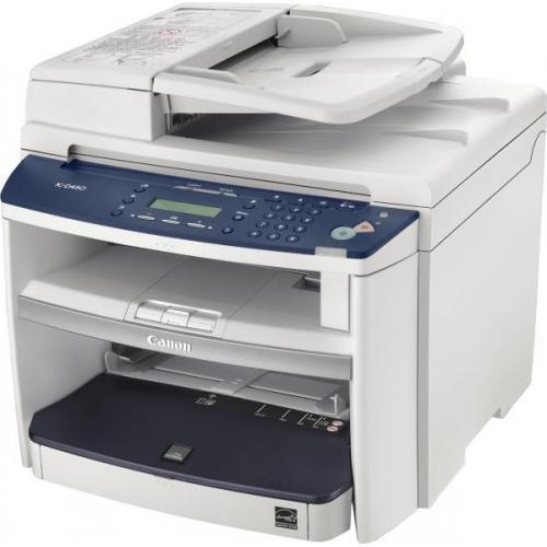 Canon PC-D450 digitale tafelkopieermachine met duplexfunctie (laserprinter, kleurenscanner, USB 2.0) wit