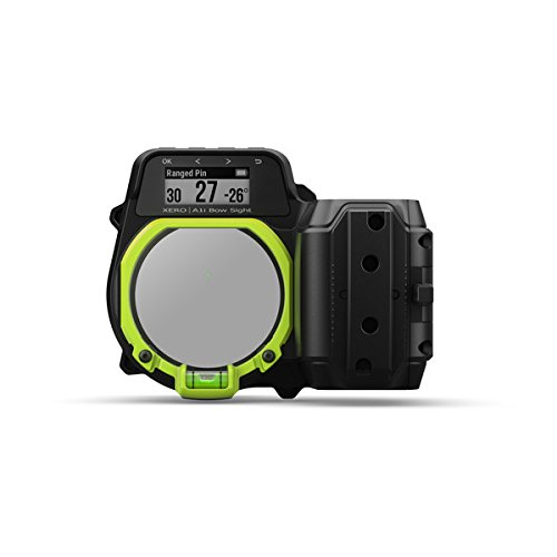 Garmin Xero A1i Bow Sight, 2' Auto-Ranging Digital Bow Sight with Laser Locate, Dual-Color LED Pins for Unobstructed Views, Right-Handed