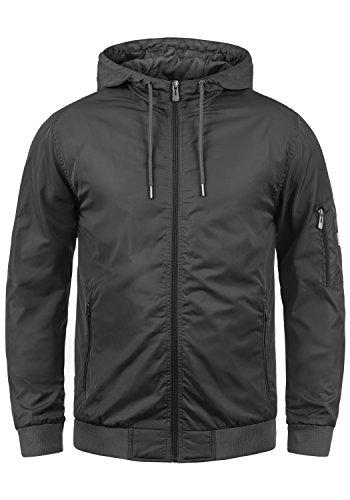 Blend Razy Herren Übergangsjacke Herrenjacke Jacke mit Kapuze, Größe:XXL, Farbe:Phantom Grey (70010)