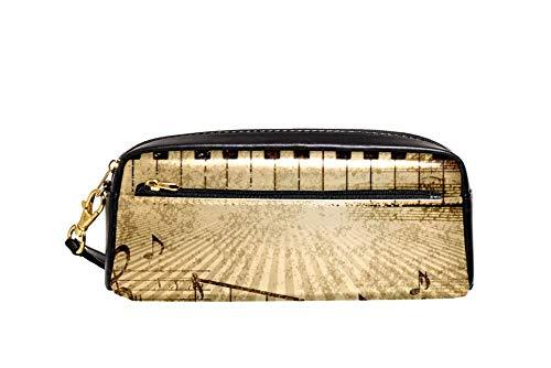 Bennigiry Musikpapier mit Gesangsnoten Tippccio per matte di große Kapazität borsa per bamini, Studenti, Borsa per penne, per scuola di viaggio, Piccola Borsa Cosmetica