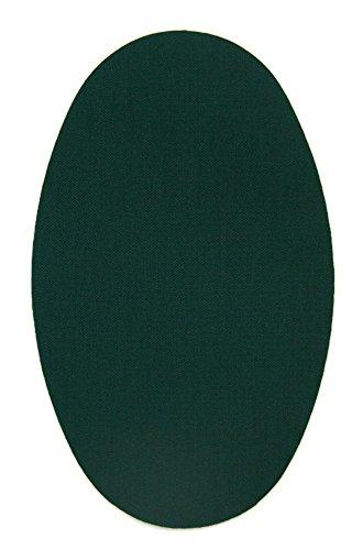 Haberdashery Online 6 Rodilleras Color Verde Oscuro termoadhesivas de Plancha. Coderas para Proteger tu Ropa y reparación de...