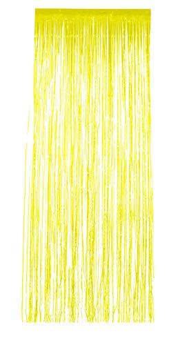 SMIFFY 'S 48323 Shimmer Gordijn, geel, One Size