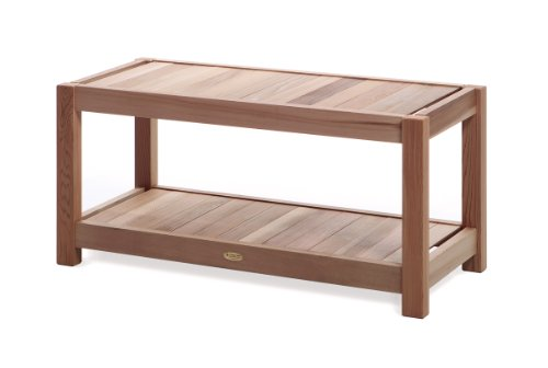 All Things Cedar SB39 Entryway/Sauna Bench