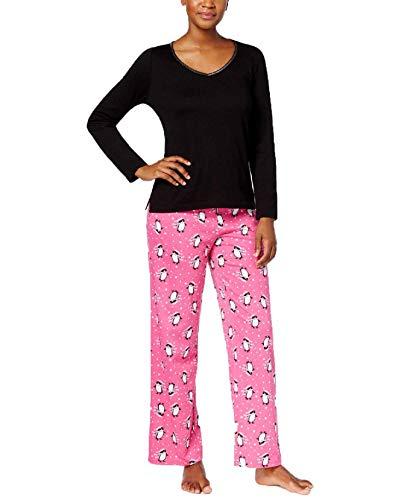 Charter Club 100% Cotton Pajama Set (Pretty Penguin) (Large)