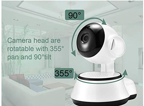 Cámara de red de seguridad inalámbrica inteligente infrarroja visión nocturna cámara de vigilancia WI-FI bebé monitor HD micro CCTV cámara de audio bidireccional