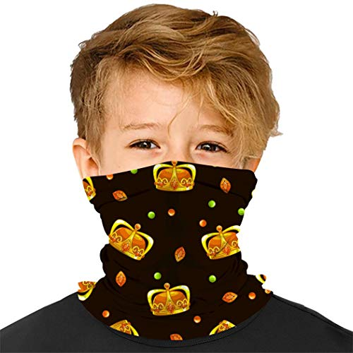 4510 Headware Golod Kids Bandanas Neck Gaiter Half Face Protective Magical Multi Funtion Balaclava