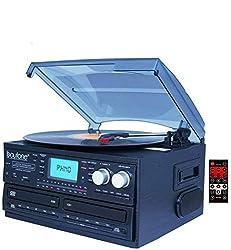 cheap Boytone BT-29B, dual Bluetooth CD player and CD2 to CD1 recorder, recording AM / FM radio on the player …
