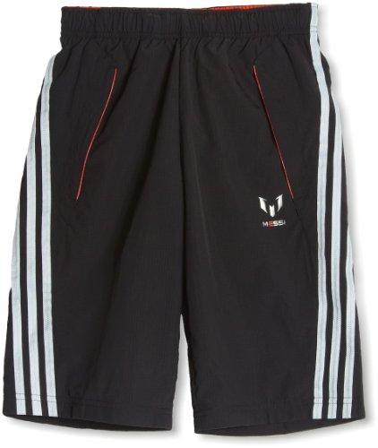 Bermudas de Messi infantiles color negro de Adidas