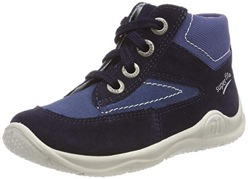 Superfit Baby Jungen Universe Sneaker, Blau (Blau 80), 22 EU