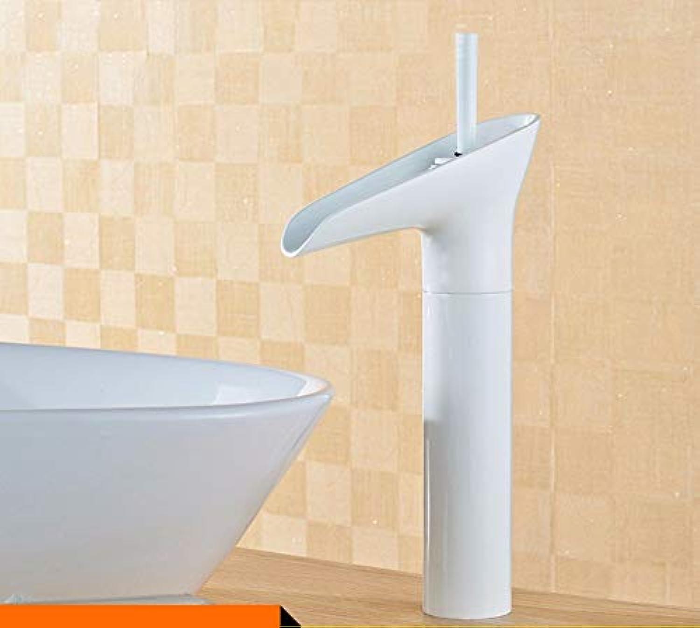 GNXIA Home Kitchen Bath Fixture Wasserhahn Kitchen Bathroomcopper Erhhter Wasserfall