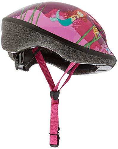 Raleigh Girl's Little Terra Mermaid Cycle Helmet - Pink, 48-54 cm