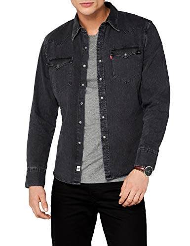 Levi's L/S Barstow Western Shirt, Camisa...