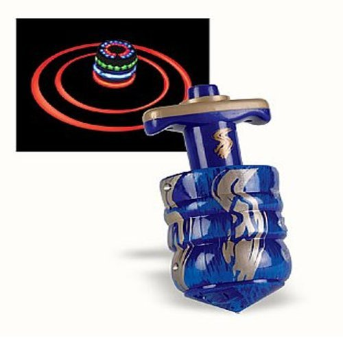 Aviv Judaica Light Up Laser Hanukkah Dreidel with Launcher