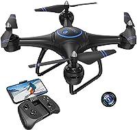 ✈【Caméra HD】-Le drone AKASO A31 est équipé d'une caméra HD 1080p,d'une transmission FPV en temps réel (vue à la première personne) et d'une lampe à LED brillante vous permettant de prendre de superbes photos aériennes et vidéos.Grâce à la fonction Wi...