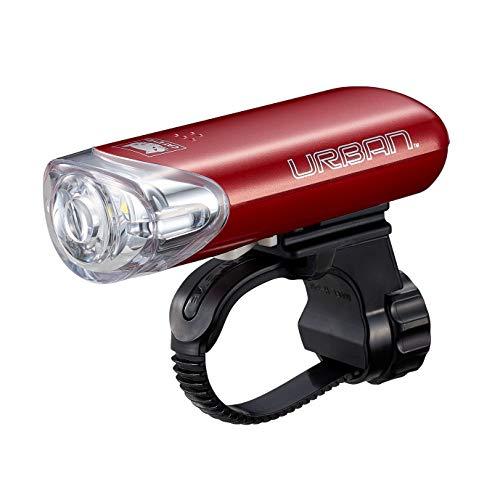 キャットアイ(CAT EYE) LEDライト ヘッドライト URBAN アーバン レッド HL-EL145 自転車