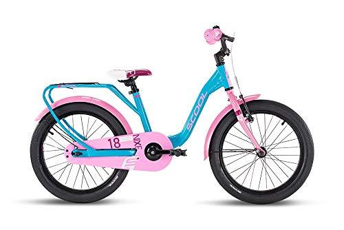 S'cool niXe Alloy 18 1-S Kinderfahrrad Kinderrad Turqoise/pink