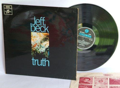 JEFF BECK truth, very rare, first UK pressing 1968 on the sort after blue columbia record label, featuring Rod Stewart, Ron Wood, John Paul Jones