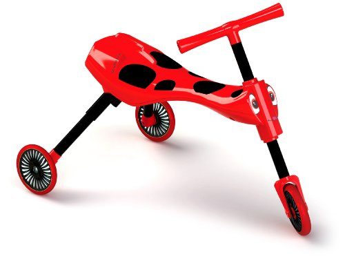 Scuttlebug Ride On Fly Bike Foldable Glide Tricycle for Toddlers