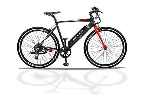 TOUTCHE HEILEO H200 Electric Hybrid Bicycle, 21 inch Stylish Aluminium...