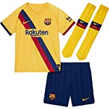 NIKE 2019-2020 Barcelona Away Little Boys - Mini kit