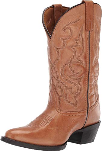 Laredo Womens Tan Maddie Western Cowboy Boots Leather 9 M