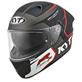 CASCO KYT NF-R TRACK MATT GREY - S