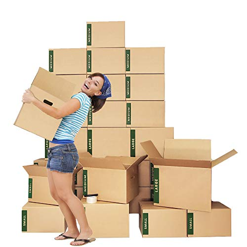 Moving Boxes Kit – 30 Moving Boxes Large/Medium/Small Plus Supplies - Cheap Cheap Moving Boxes
