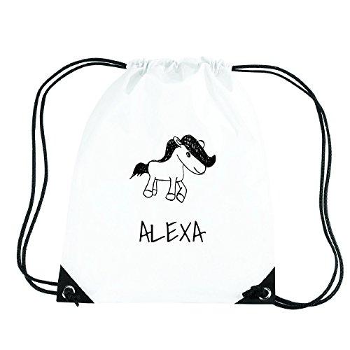 JOllipets Alexa Turnbeutel Sport Tasche PGYM5095 – Design: Pony