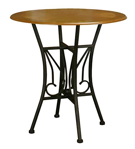 Sunset Trading Sunset Dart Dining Table, Espresso with light oak finish top
