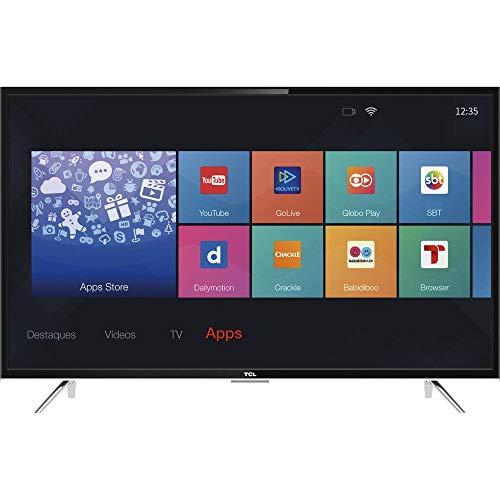 Smart TV LED 43' Full HD, TCL L43S4900FS, Preta